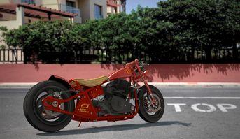 Royal motocicleta