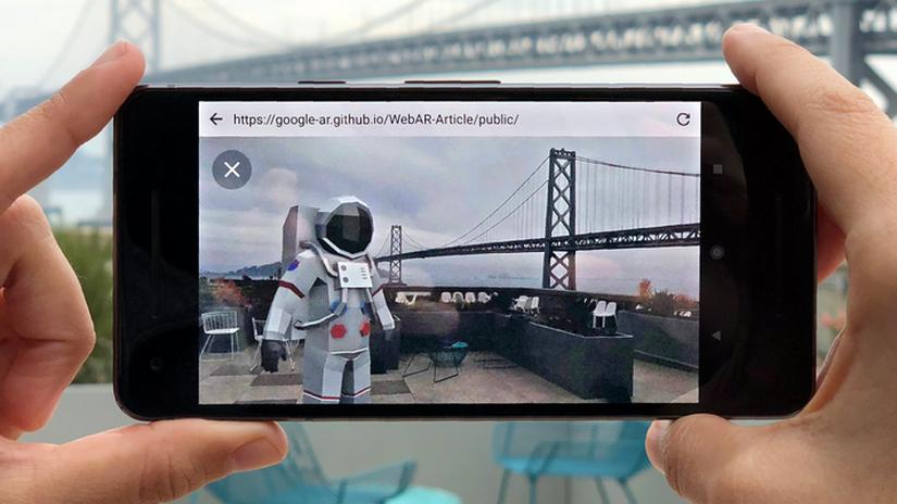 Google Article: la realtà aumentata direttamente nel browser web