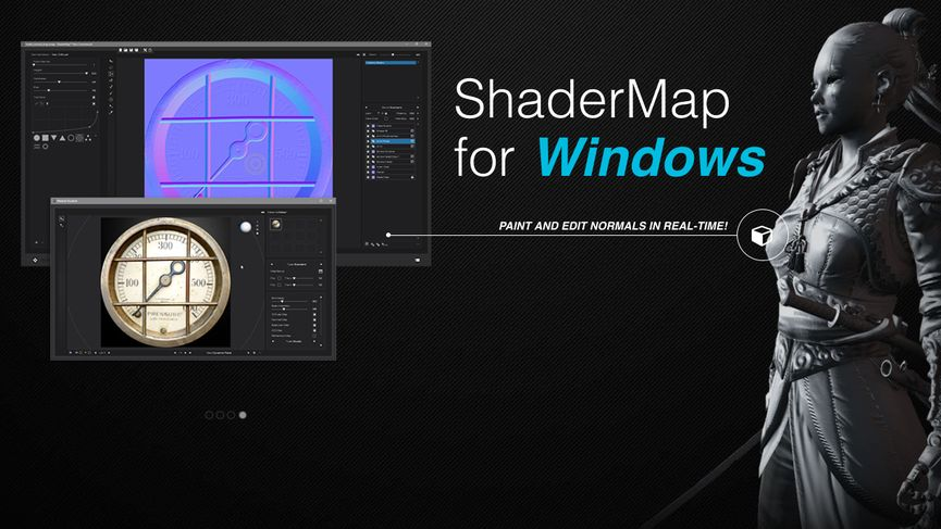 ShaderMap: generare mappe da Texture e Modelli 3D