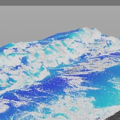Houdini RnD: Beach Wave