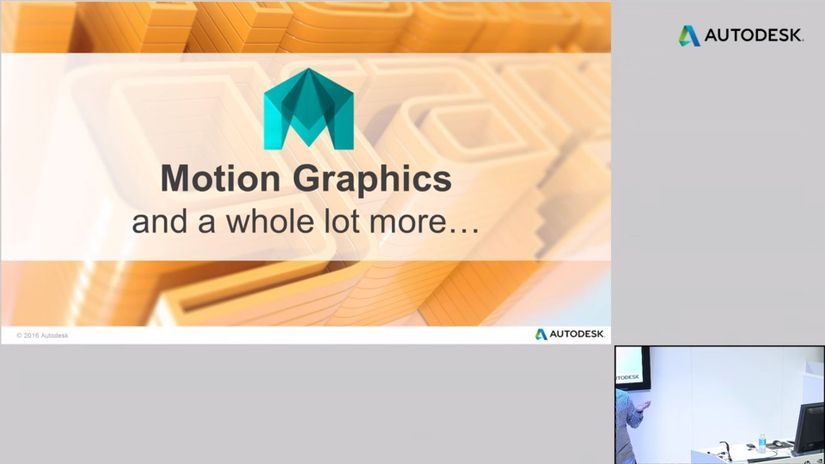 NAB 2016 - Maya 2016 Ext 2 & Motion Graphics
