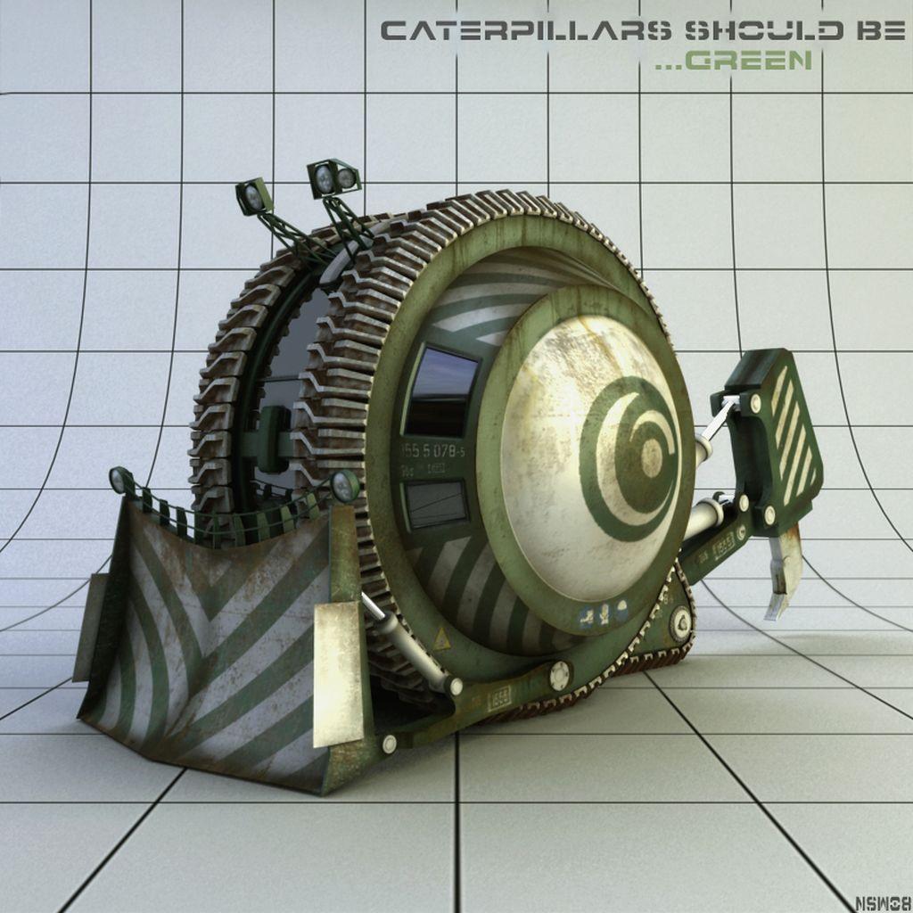 Cgsphere - Caterpillar