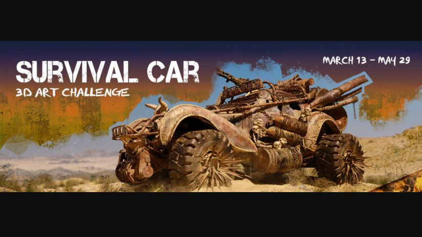 Survival Car 3D Challenge