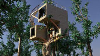 Casa sull'albero, stile moderno