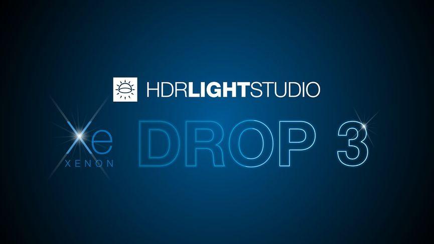 HDR Light Studio - Xenon Drop 3,