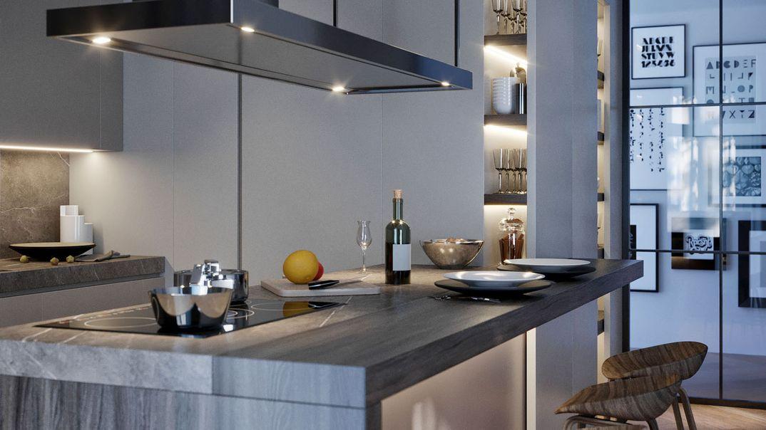 Kitchen design proposal