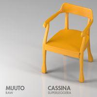 Muuto -Raw | Cassina - Superleggera