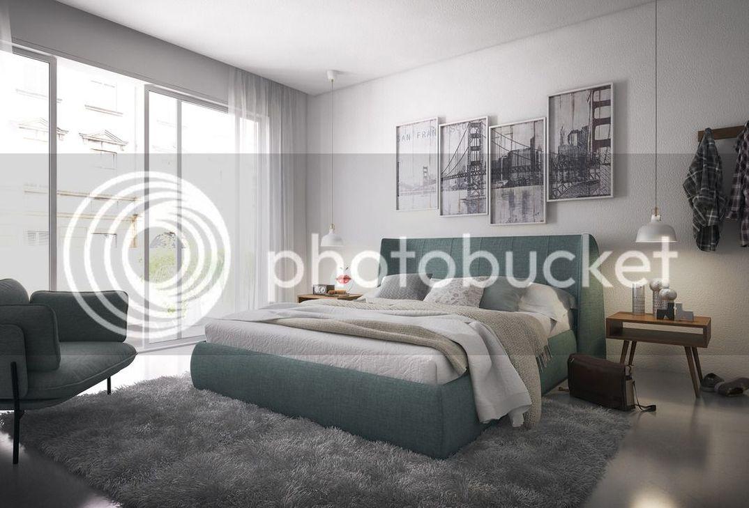 Bedroom concept.