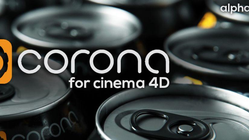 Corona Alpha1 for Cinema 4D
