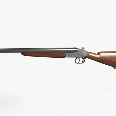 Old classic double rifle