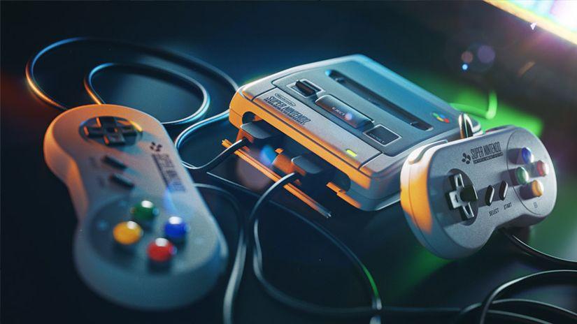 Super Nintendo Mini: oggetto 3D da scaricare gratuitamente