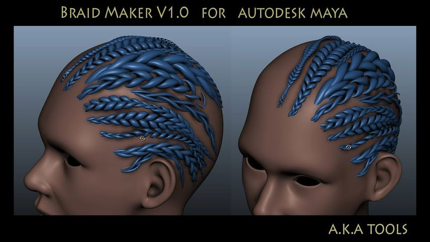 Braid Maker 1.0 per Maya