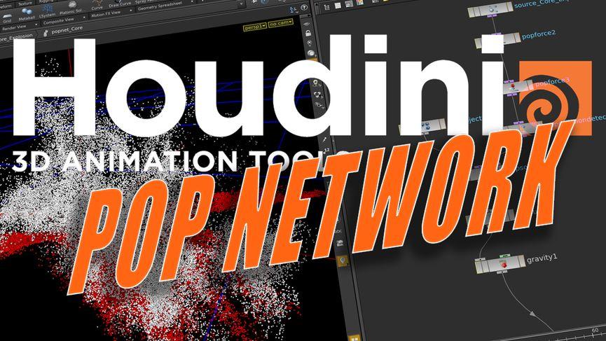Tutorial SideFX Houdini - POP Network (Particles Houdini 15)