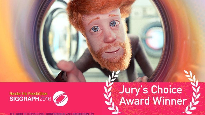 Cosmos Laundromat vince il Choice Award al SIGGRAPH Computer Animation Festival