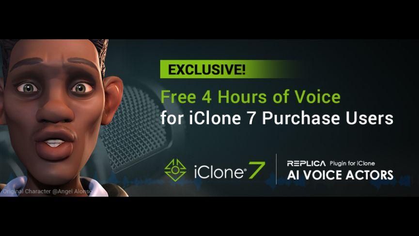 Reallusion lancia il plugin AI Voice Actors per iClone