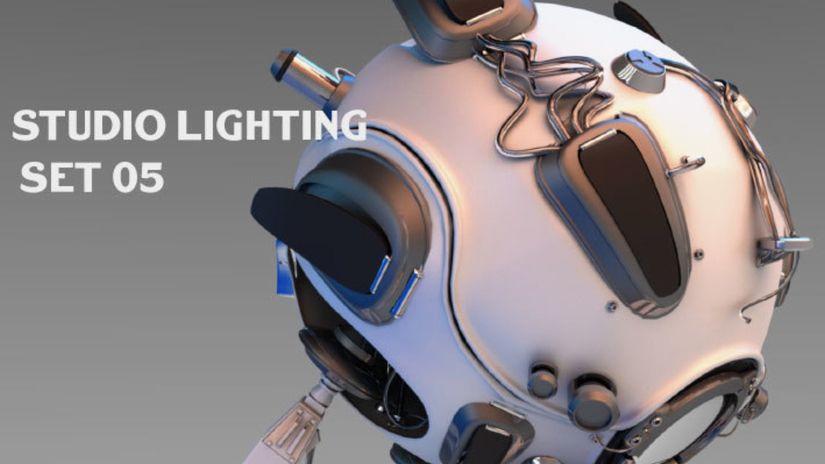 HDRI Studio Lighting Set 05 da scaricare gratuitamente