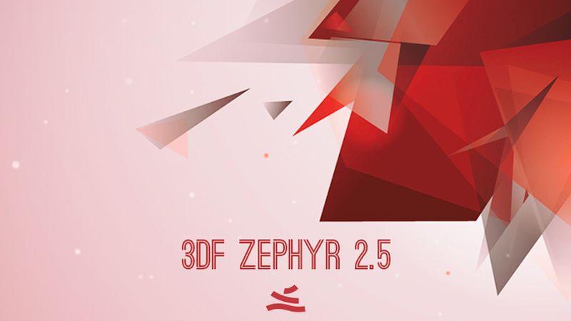 3DF Zephyr 2.5 - Modellazione 3D a partire da foto e video