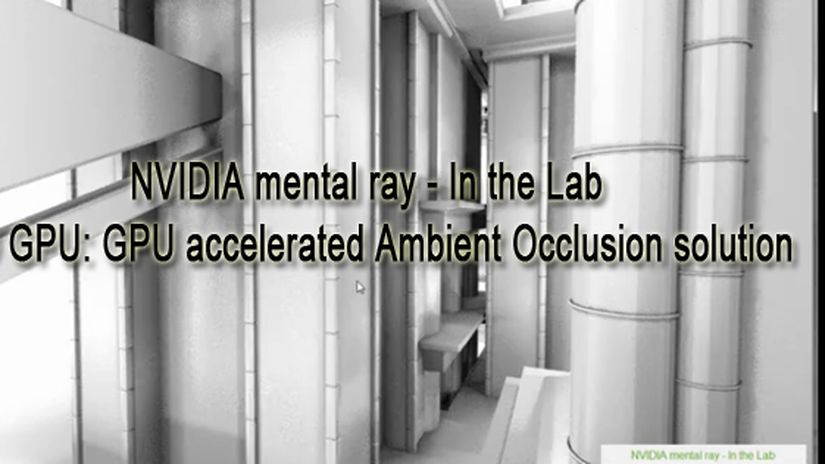 NVIDIA mental ray – In the Lab