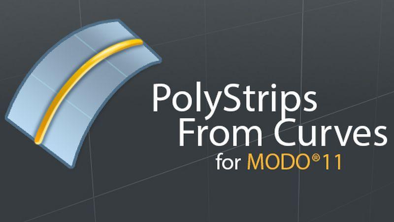 PolyStrips from Curve, FUR veloce e semplice in MODO