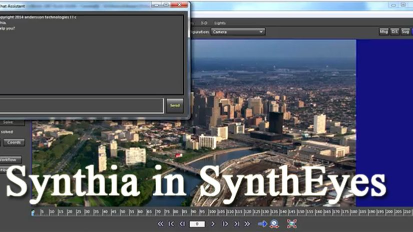 Synthia Introduces Itself in SynthEyes