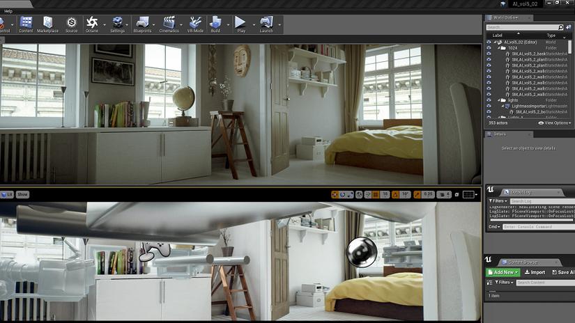 Octane Render 2019 per Unreal Engine e Blender 2.80