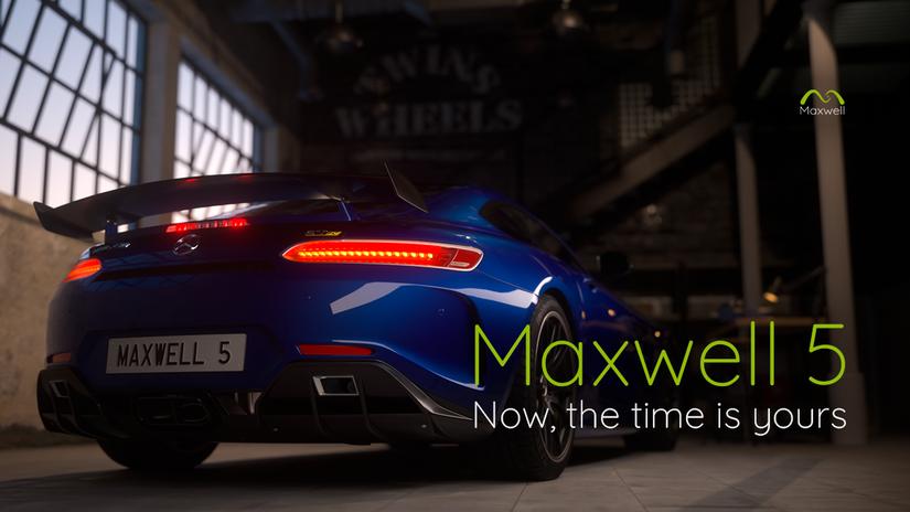 Maxwell Render 5