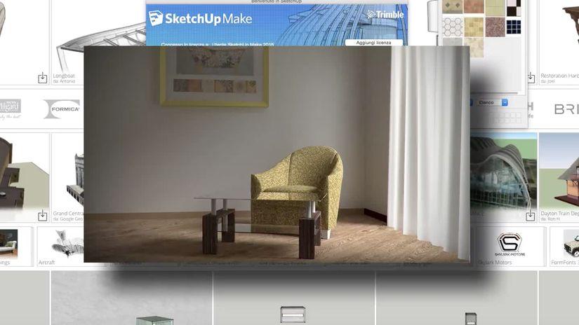 Realizzare una scena di interni con Blender e SketchUp in meno di 35 minuti (o quasi)