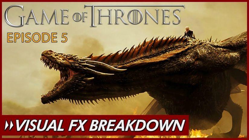 Trono di Spade: VFX Breakdown di Allan McKay