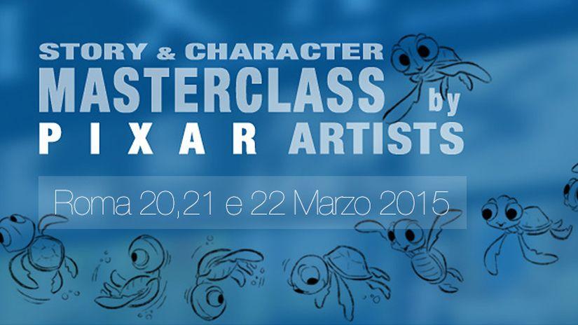 Story & Character Masterclass | ROMA | con artisti PIXAR