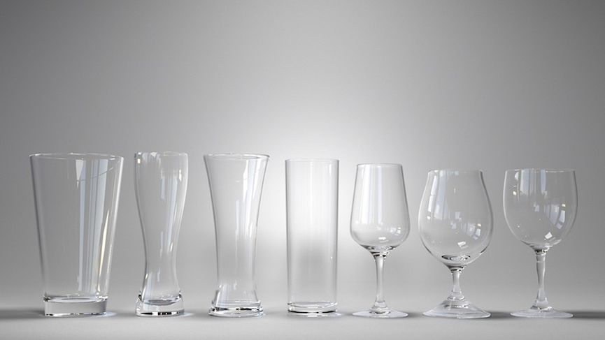 Bicchieri da birra per Maya   Arnold   V-Ray   OBJ