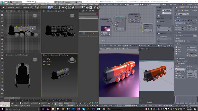 MaxToBlender: da 3ds Max a Blender con due click!