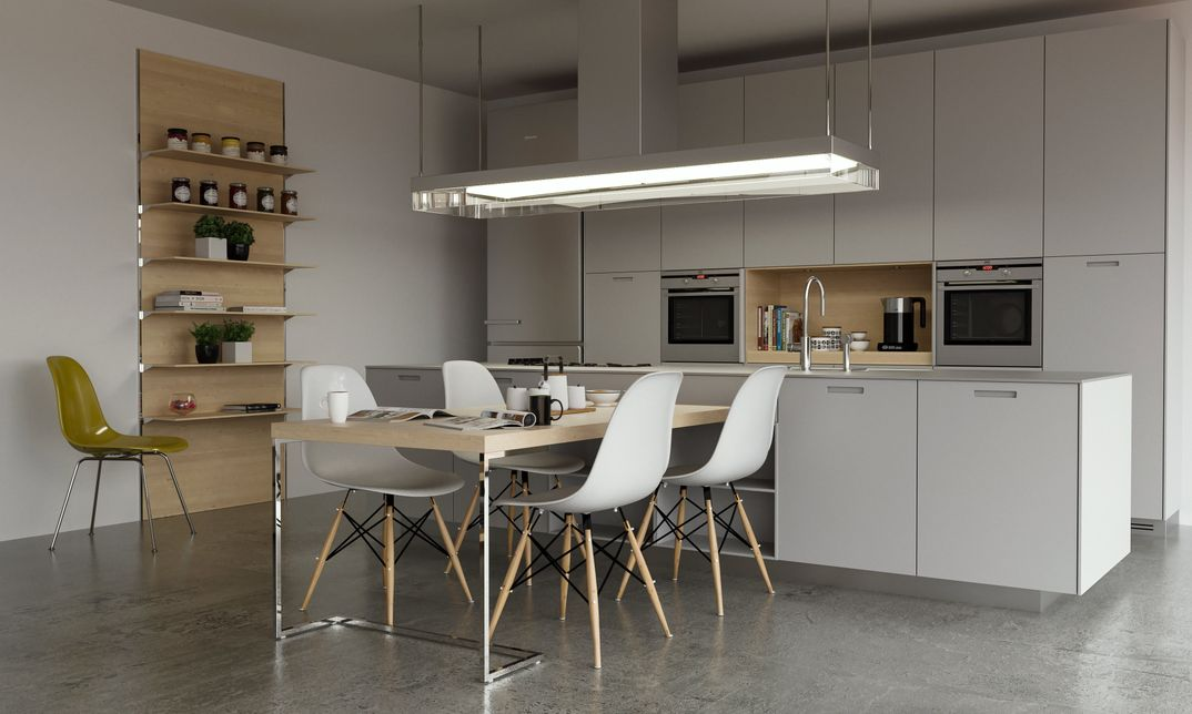 Kitchen Poliform render Corona