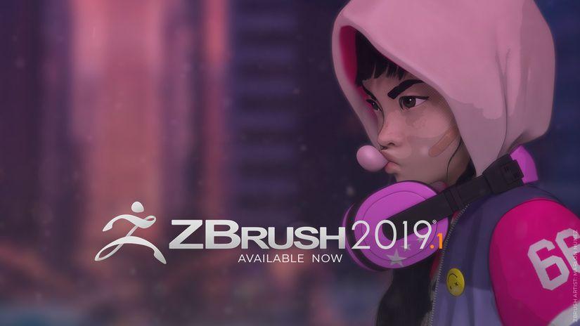 Pixologic rilascia ZBrush 2019.1