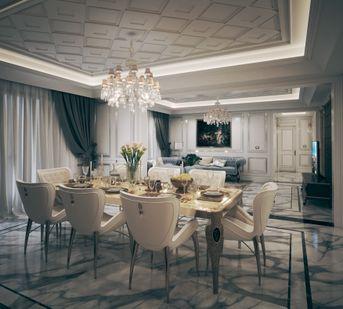 Apartamento neoclassico