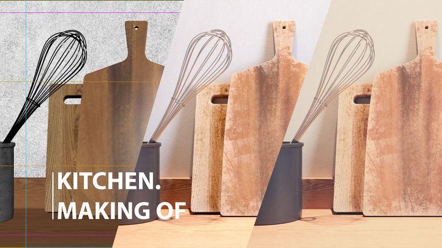 Making of Kitchen