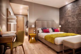 Realizzazioni Rendering fotorealistici 3d : Camere Albergo