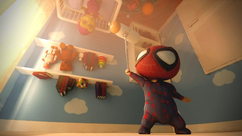 Making of Spiderbaby