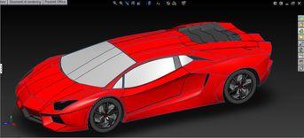 Work in progress_Lamborghini Aventador