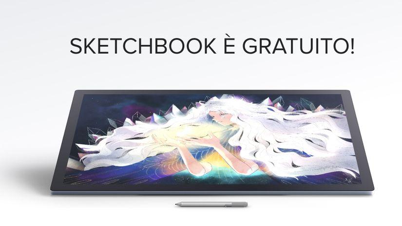 Autodesk SketchBook diventa gratuito
