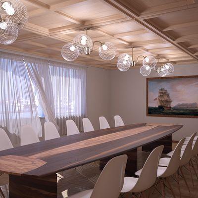Sala riunioni con stile Marino