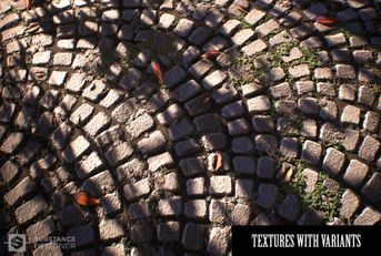SUBSTANCE DESIGNER PROJECT: COBBLESTONE