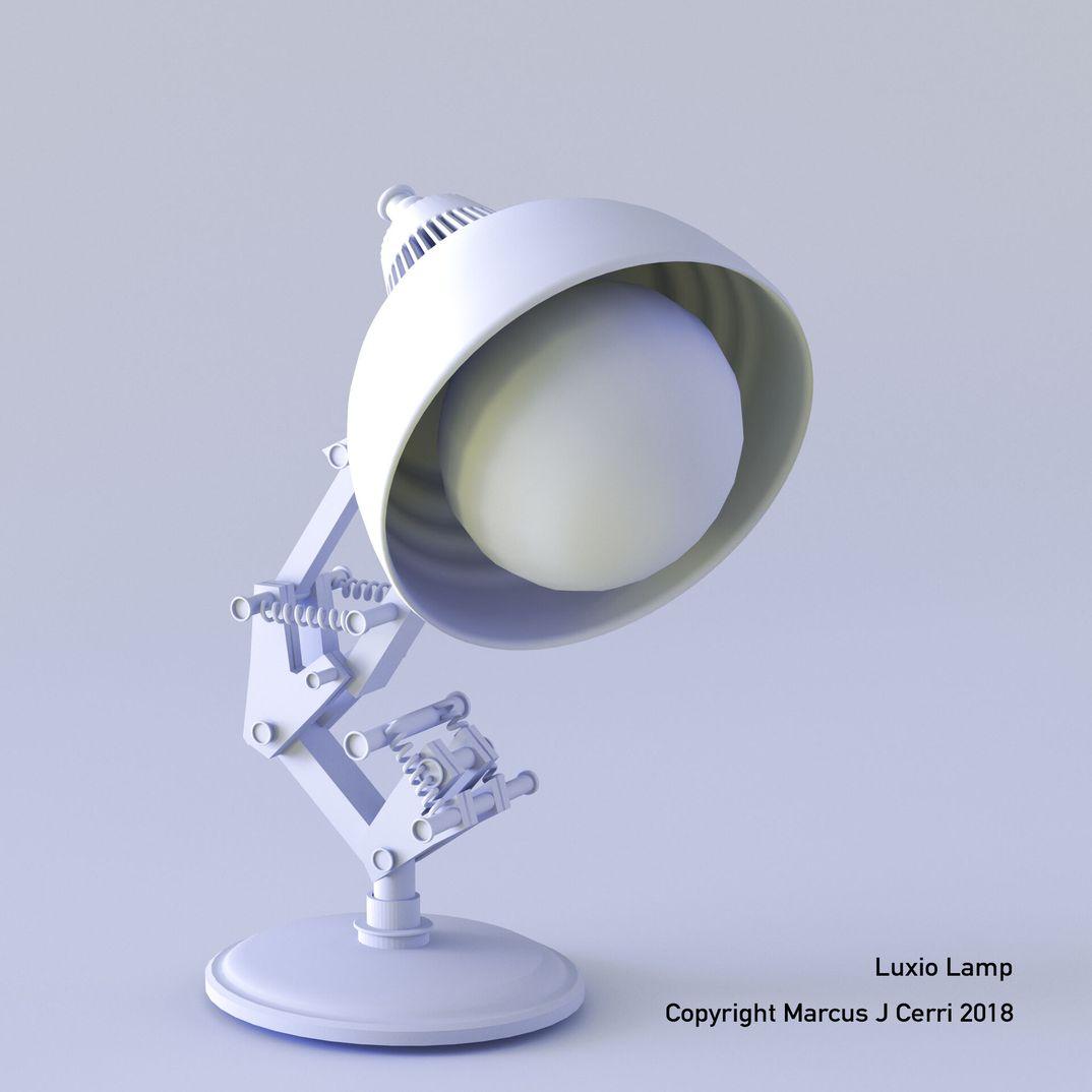 Luxio -Pixar Lamp