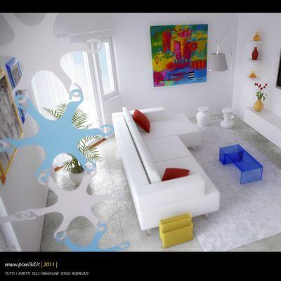 Appartamento Kartell