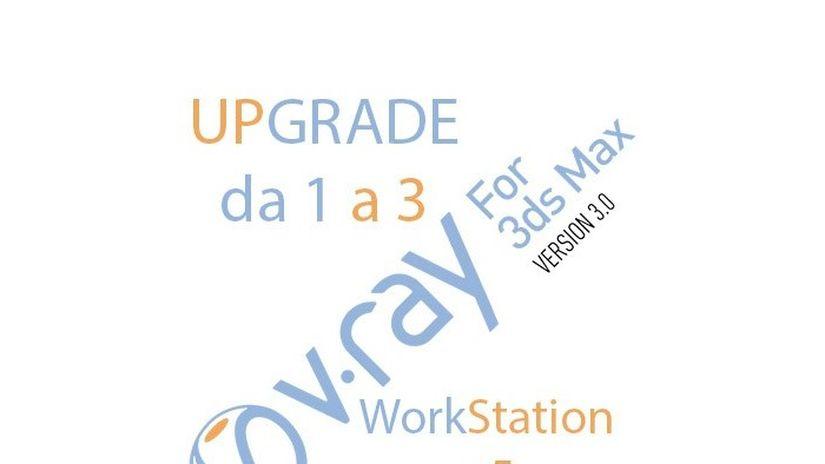 Promo V-Ray per 3ds Max upgrade - ultimi giorni