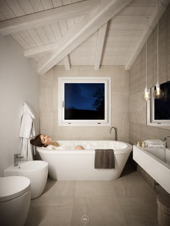 Bathroom in Sardinia