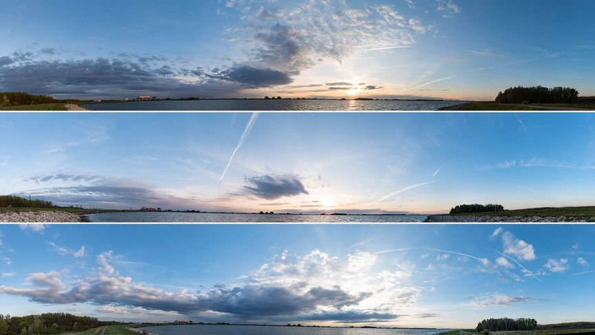 Sky textures in alta risoluzione gratis da Flying Architecture