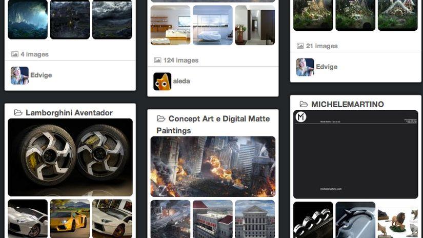 Nuova Gallery per i vostri portfolio