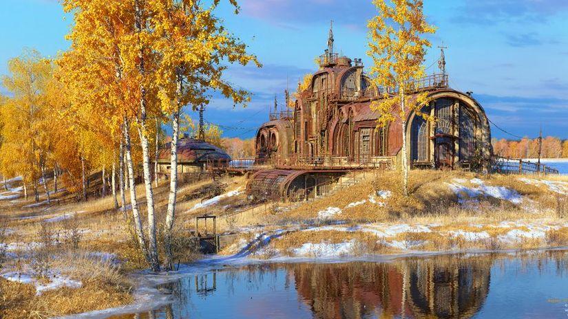 Autumn at Relay Outpost 17 - l'ultimo capolavoro di Marek Denko