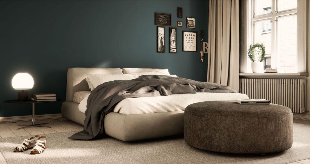 Bolton Poliform bed archviz UE4.16