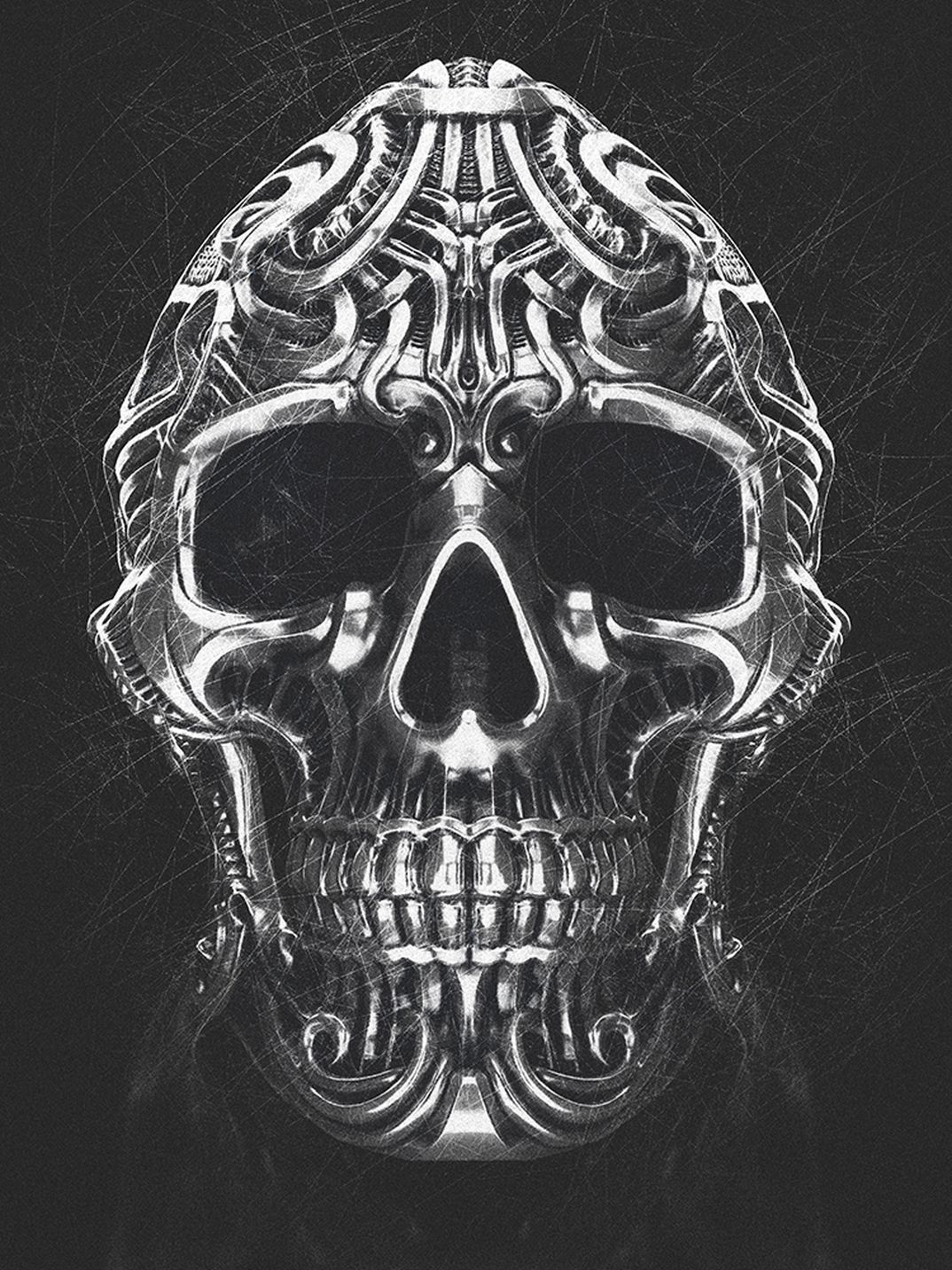 SmokySkull Ring